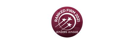 Top ranked firm: IP Litigation, Patent Prosecution and Trademark Prosecution. 2021